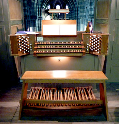 console orgue Dunand, Gap