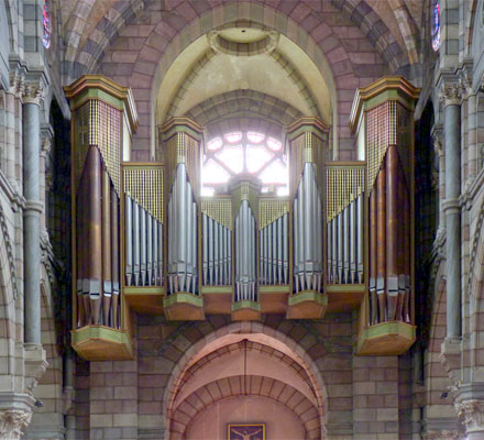 Grand-orgue Jean-Dunand - cathédrale de Gap